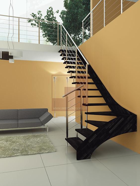 escaliers contemporains toulouse bois fer escaliers crouzet. Black Bedroom Furniture Sets. Home Design Ideas